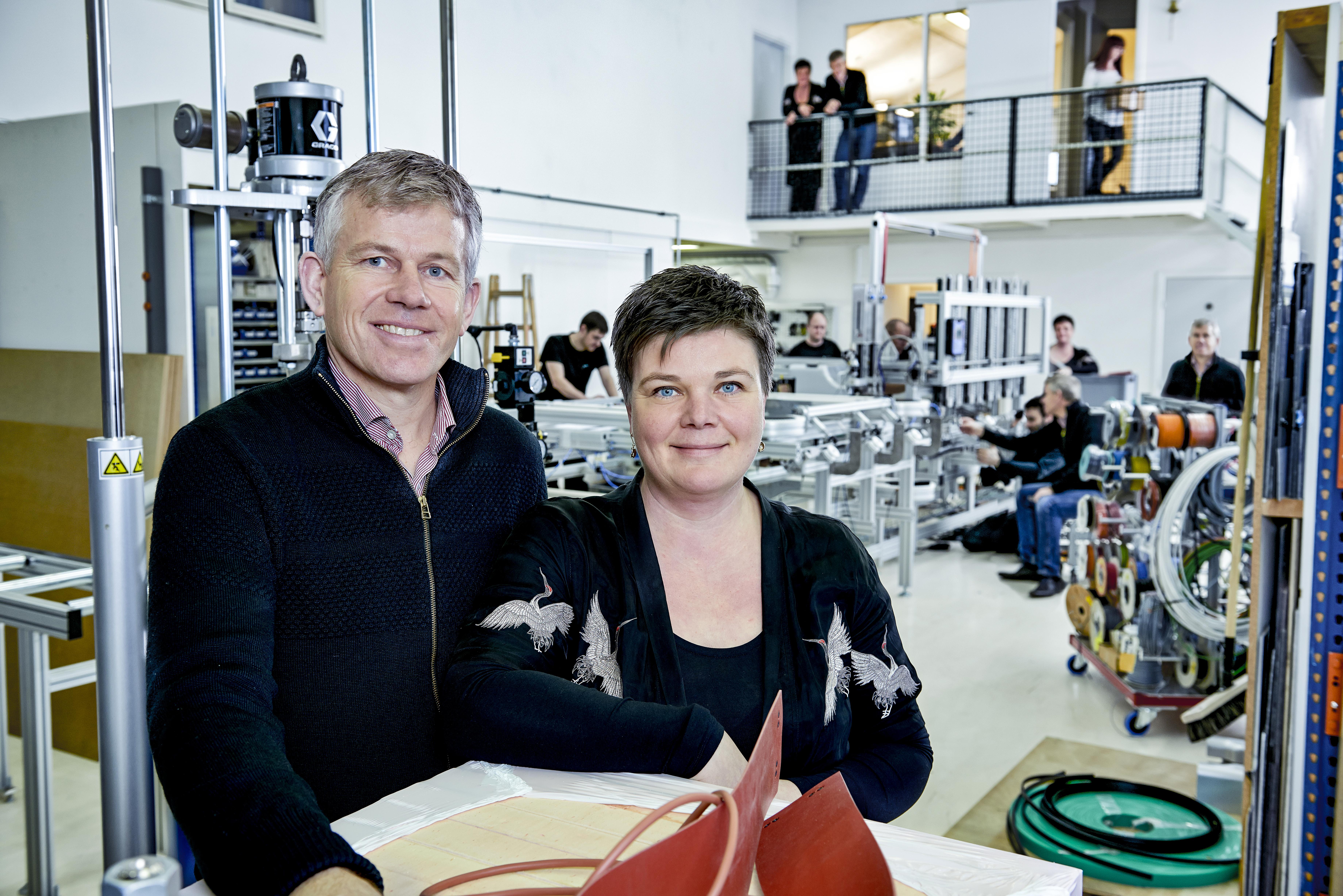Maria Nørbæk og Henrik Aplica januar 2018 Peter Jarvad (1)