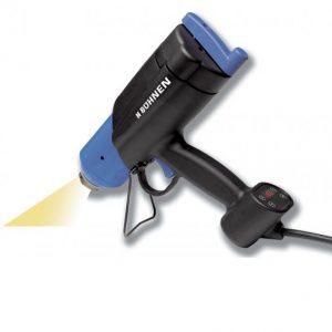 Limpistol HB710 Spray, inkl. arbejdsstation med holder, lufttilslutning og fodpedal