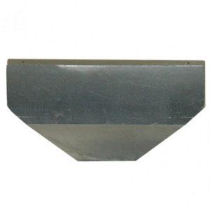 Flad hul dyse, 70mm. 8 huller, 1,5mm