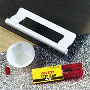 Loctite 3430 strukturlim, epoxy, optisk klar lim