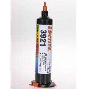 Loctite 3921 lyshærdende lim – til skøre plast, certificeret iht. ISO 10993, 1 liter