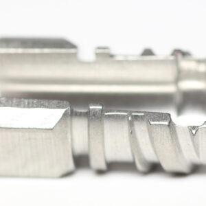 Subrex HUB Rustfri stål med kemisk nikkel coatin